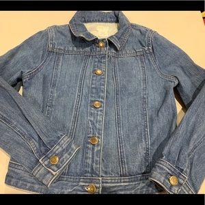 J. Crew Jackets & Coats - Crew Cuts Denim Jacket size 8